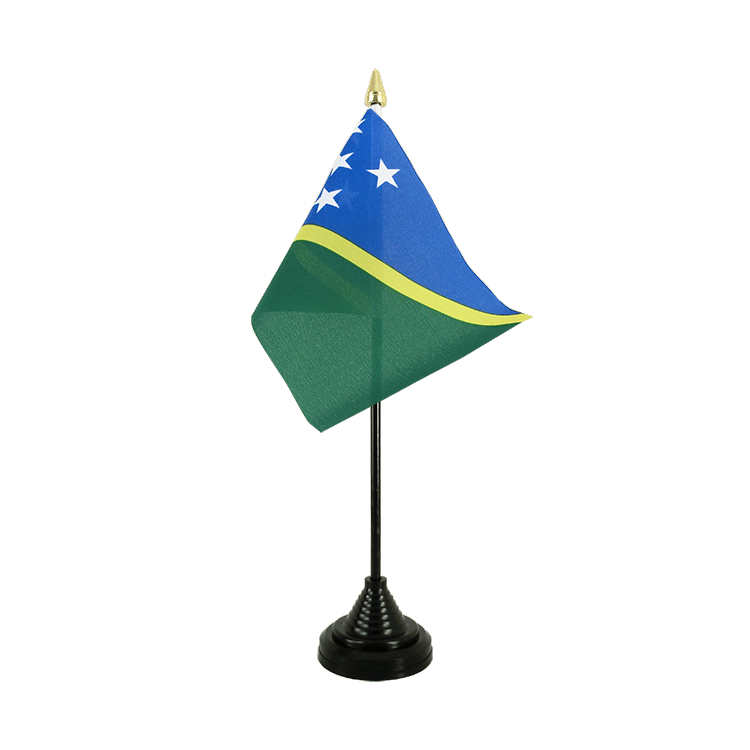 "Table Flag Solomon Islands - 4x6"" (10 x 15 cm)"