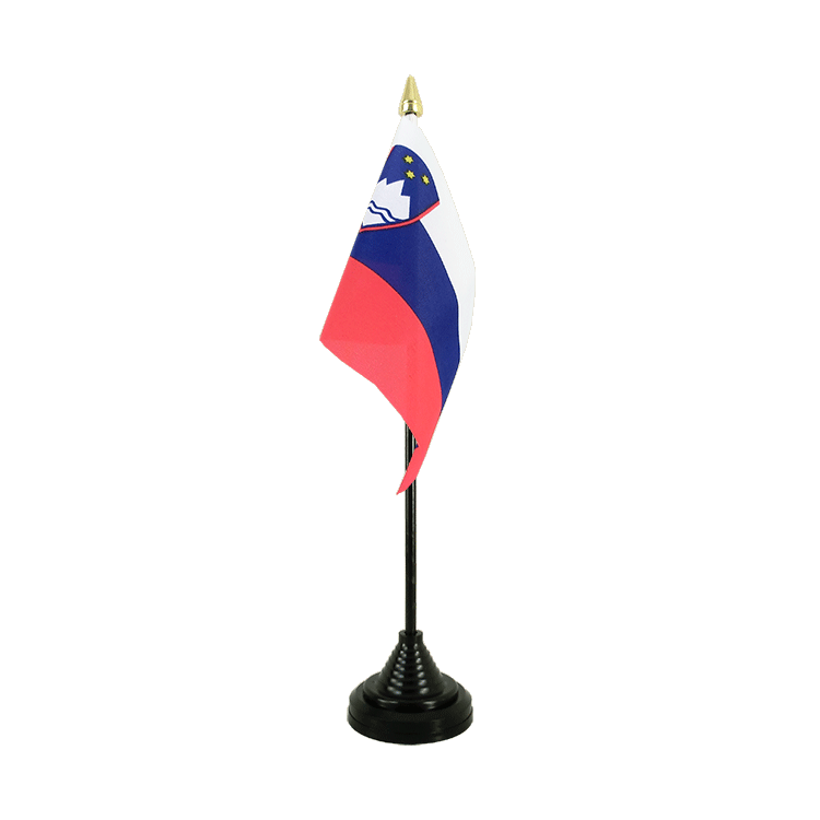 "Table Flag Slovenia - 4x6"" (10 x 15 cm)"