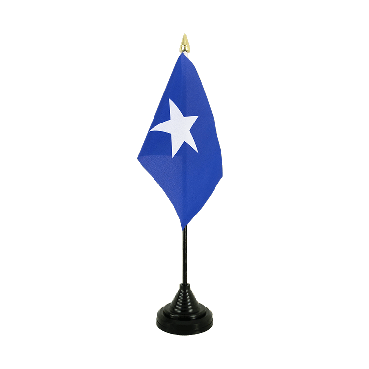 "Table Flag Somalia - 4x6"" (10 x 15 cm)"