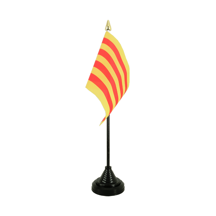 Mini drapeau de table Catalogne 10x15 cm