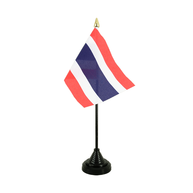 "Table Flag Thailand - 4x6"" (10 x 15 cm)"