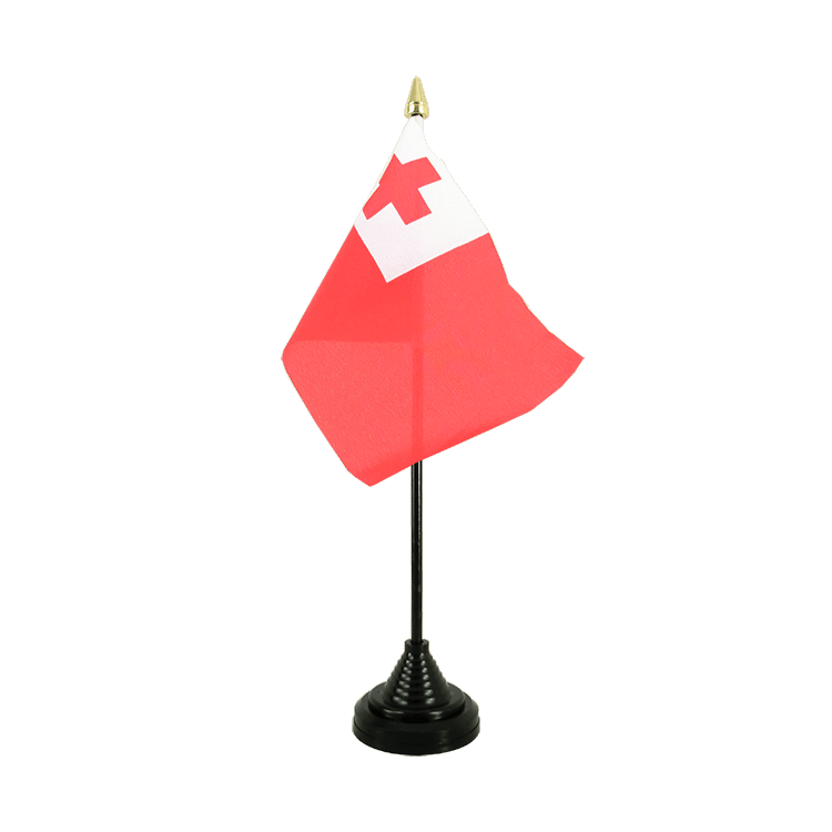 "Table Flag Tonga - 4x6"" (10 x 15 cm)"