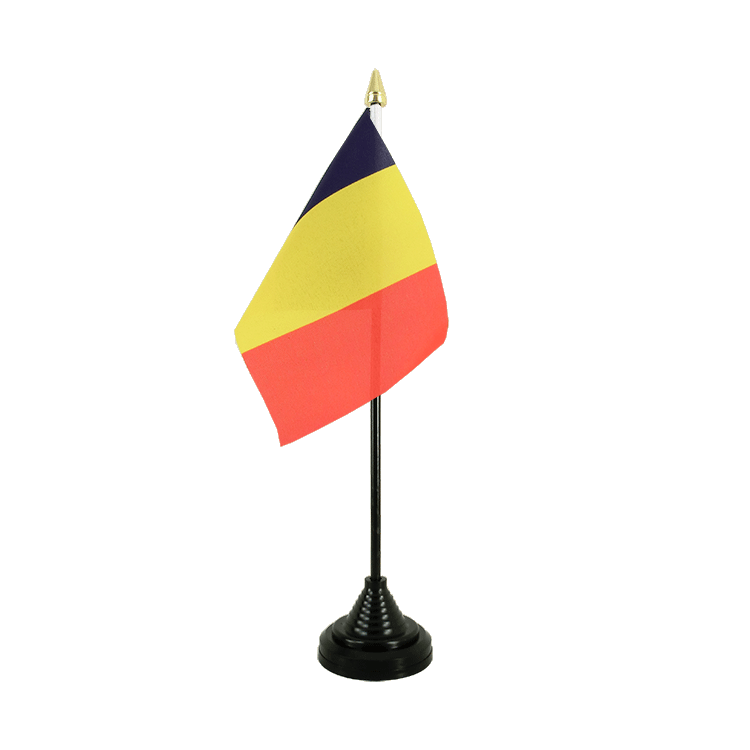 "Table Flag Chad - 4x6"" (10 x 15 cm)"