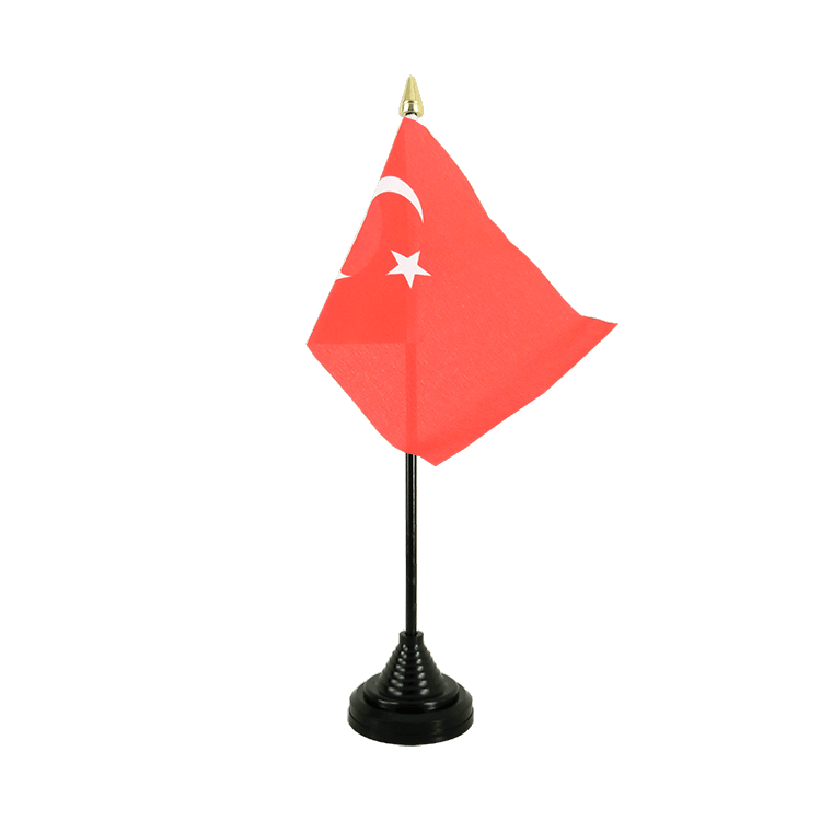 "Table Flag Turkey - 4x6"" (10 x 15 cm)"