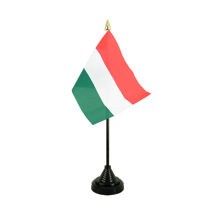 "Desk and Table Flag Hungary - 4x6"" (10 x 15 cm)"