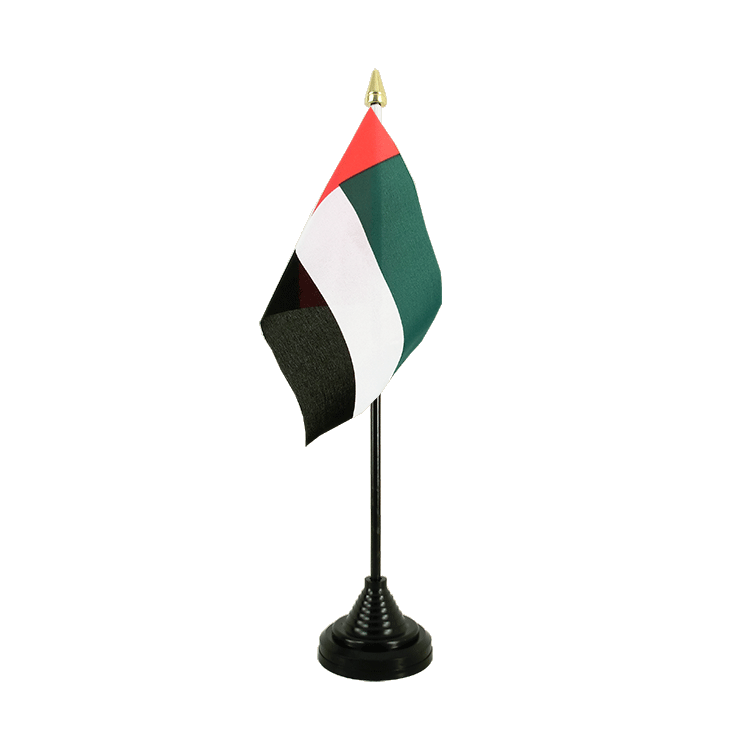"Table Flag United Arab Emirates - 4x6"" (10 x 15 cm)"