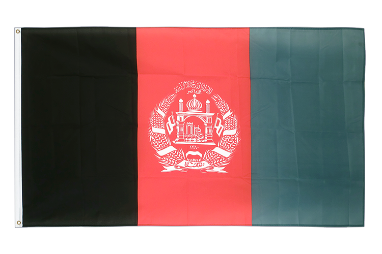 Cheap Flag Afghanistan - 2x3 ft