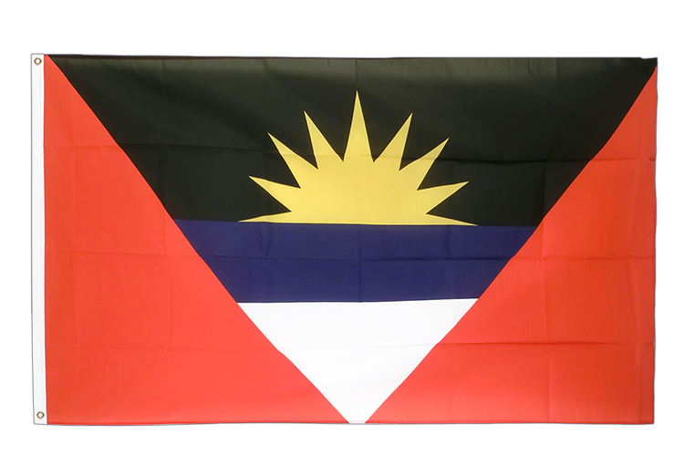 Cheap Flag Antigua and Barbuda - 2x3 ft