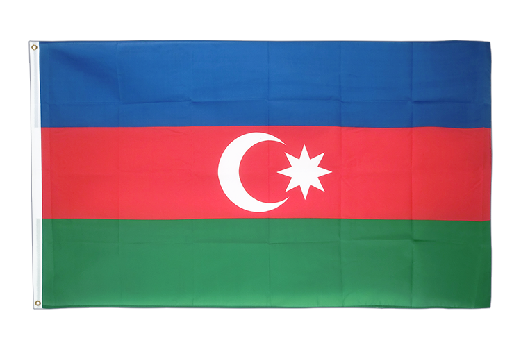 Cheap Flag Azerbaijan - 2x3 ft