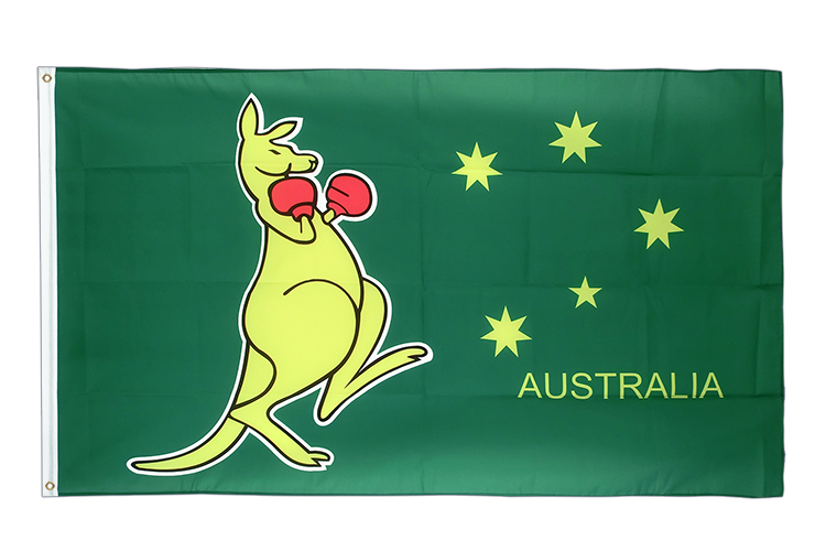 Cheap Flag Australia kangaroo - 2x3 ft