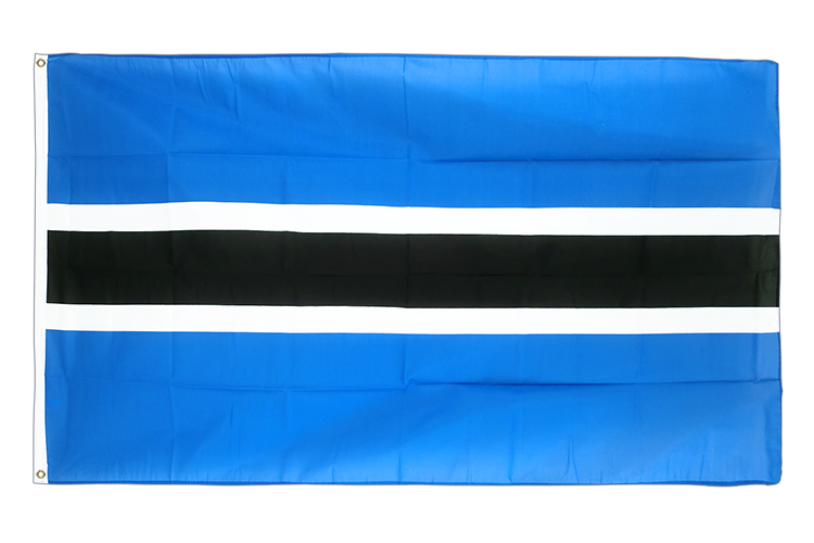 Cheap Flag Botswana - 2x3 ft