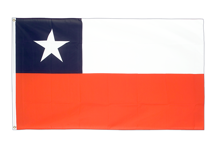 Cheap Flag Chile - 2x3 ft