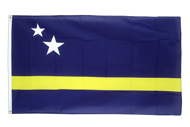 Cheap Flag Curacao - 2x3 ft