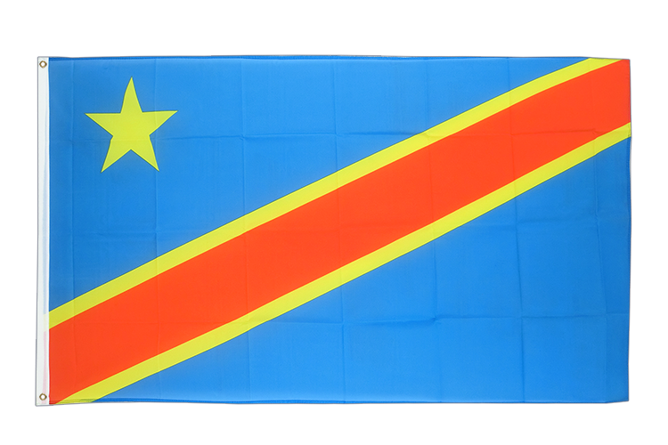 Cheap Flag Democratic Republic of the Congo - 2x3 ft