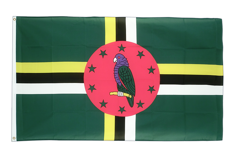 Cheap Flag Dominica - 2x3 ft