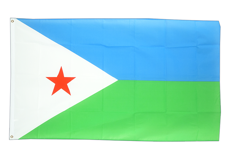 Cheap Flag Djibouti - 2x3 ft