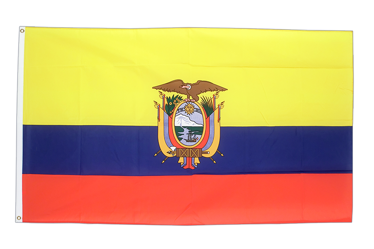 Cheap Flag Ecuador - 2x3 ft