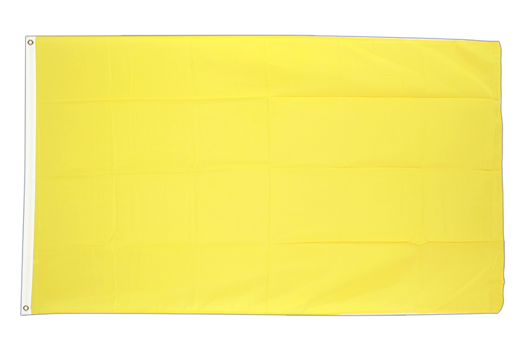 Cheap Flag yellow - 2x3 ft