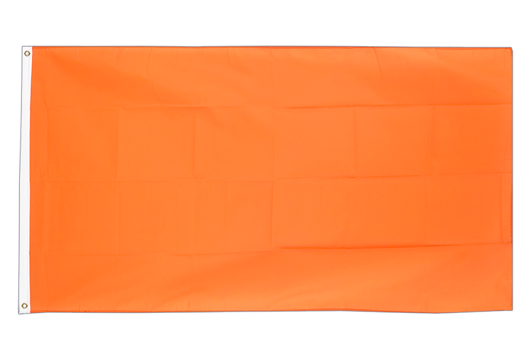 Orange - Flagge 60 x 90 cm
