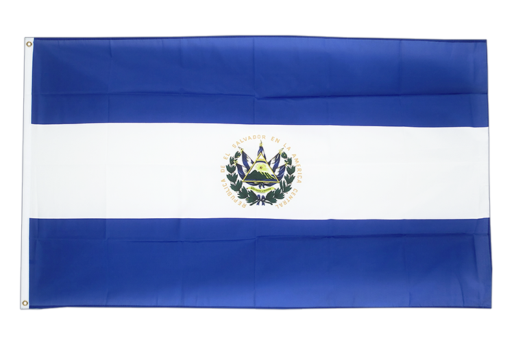 Cheap Flag El Salvador - 2x3 ft