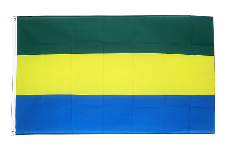 Cheap Flag Gabon - 2x3 ft