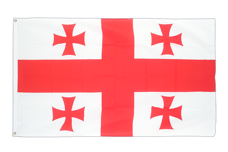 Cheap Flag Georgia - 2x3 ft