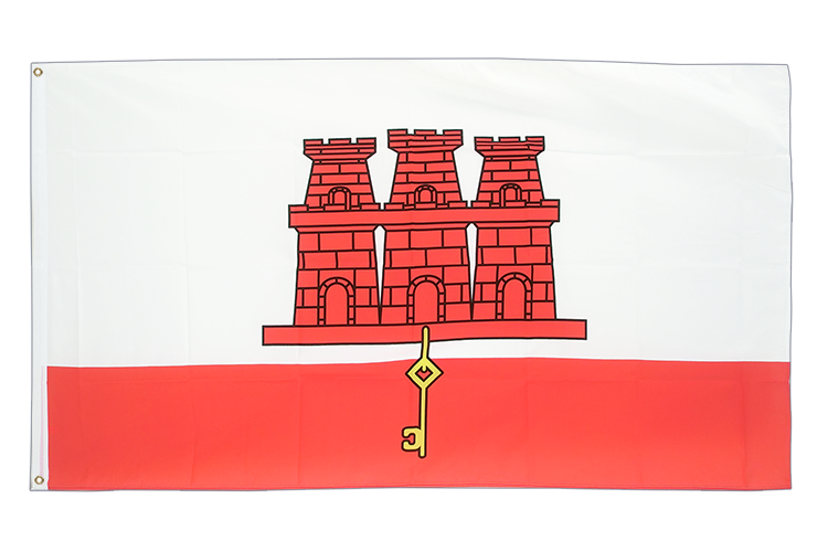 Cheap Flag Gibraltar - 2x3 ft