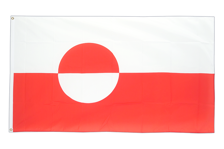 Cheap Flag Greenland - 2x3 ft