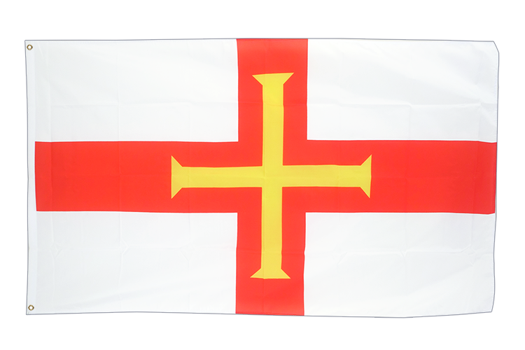 Cheap Flag Guernsey - 2x3 ft