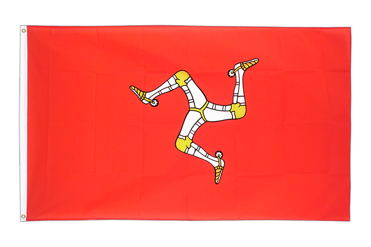 Cheap Flag Isle of man - 2x3 ft