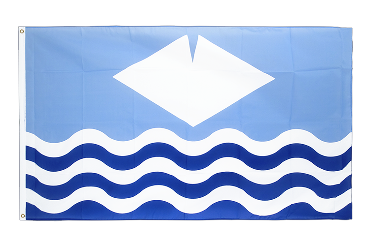 Isle of Wight - Flagge 60 x 90 cm