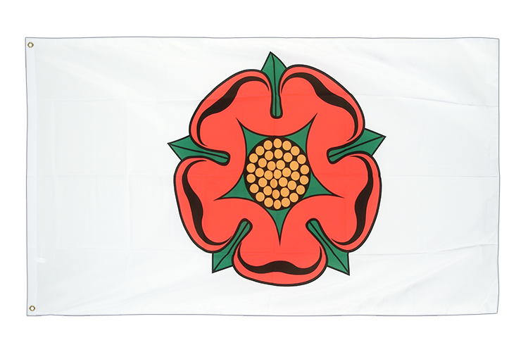 Cheap Flag Lancashire red rose - 2x3 ft