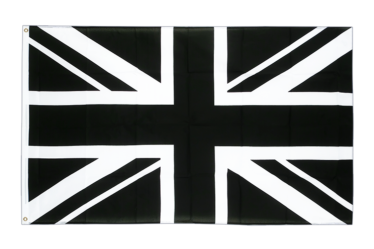 Cheap Flag Union Jack black - 2x3 ft