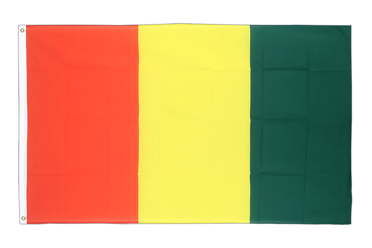 Cheap Flag Guinea - 2x3 ft