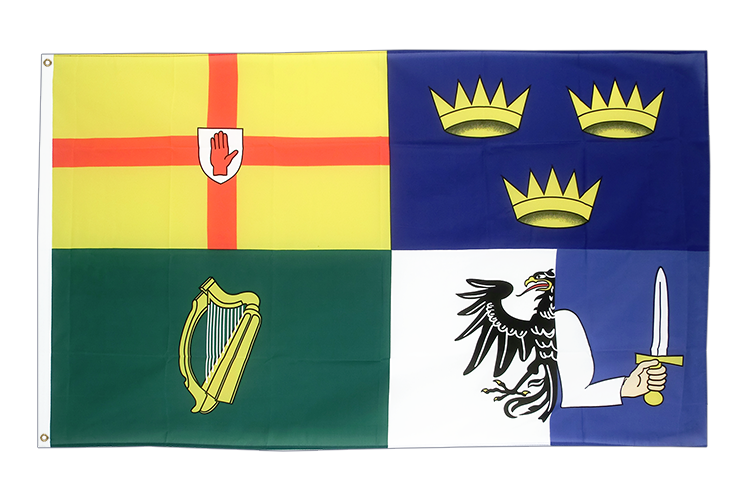 Cheap Flag Ireland 4 provinces - 2x3 ft