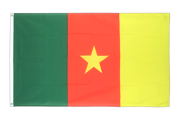 Cheap Flag Cameroon - 2x3 ft