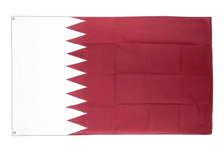Cheap Flag Qatar - 2x3 ft