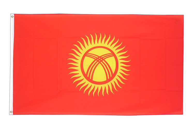 Cheap Flag Kyrgyzstan - 2x3 ft
