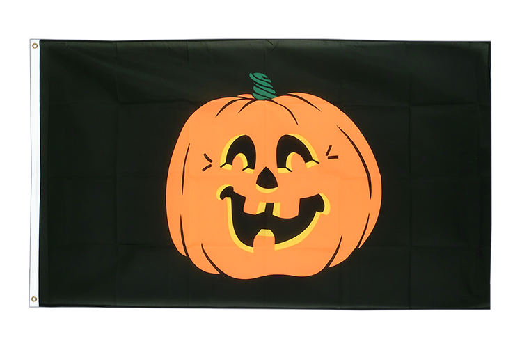 Cheap Flag Pumpkin - 2x3 ft