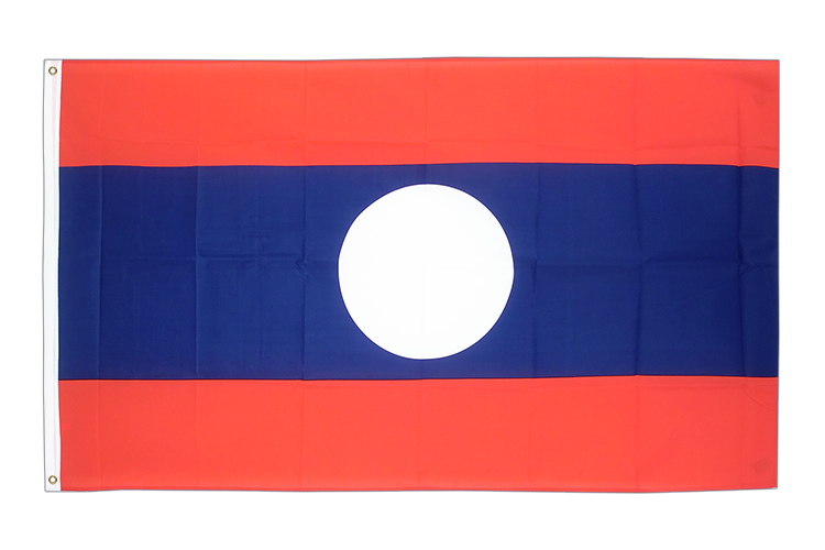 Cheap Flag Laos - 2x3 ft