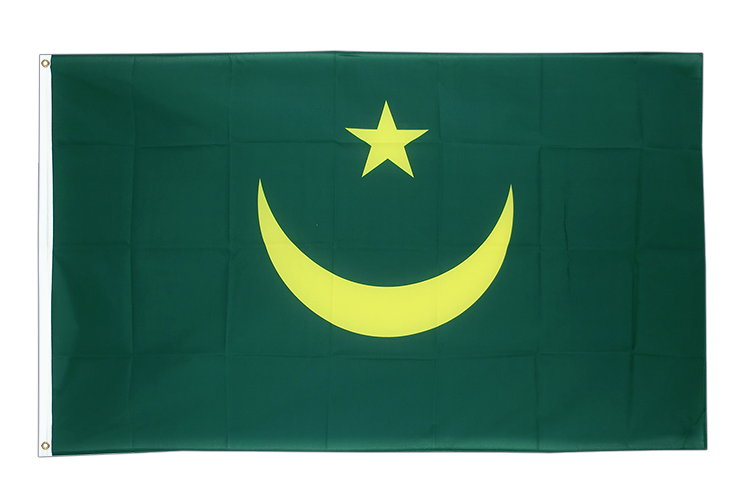 Cheap Flag Mauritania - 2x3 ft