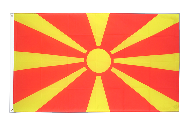 Cheap Flag Macedonia - 2x3 ft