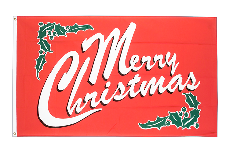 Cheap Flag Merry Christmas - 2x3 ft