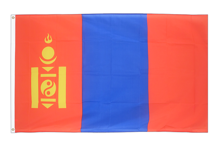 Cheap Flag Mongolia - 2x3 ft