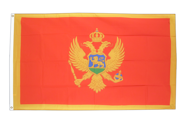 Cheap Flag Montenegro - 2x3 ft