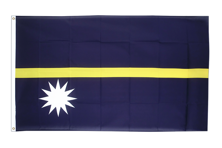 Cheap Flag Nauru - 2x3 ft