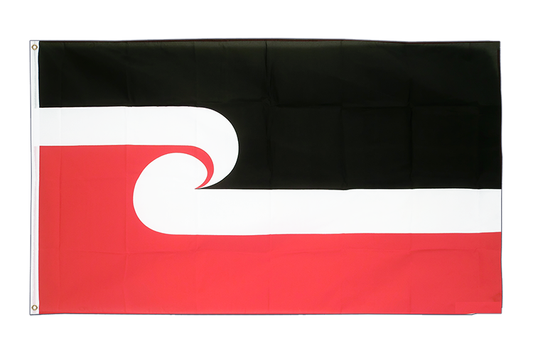Cheap Flag New Zealand Maori - 2x3 ft