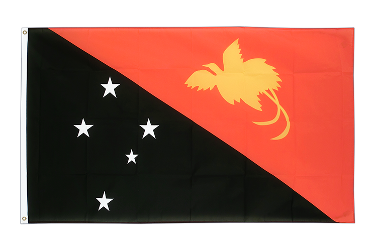Cheap Flag Papua New Guinea - 2x3 ft