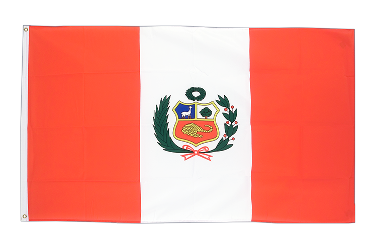 Cheap Flag Peru - 2x3 ft