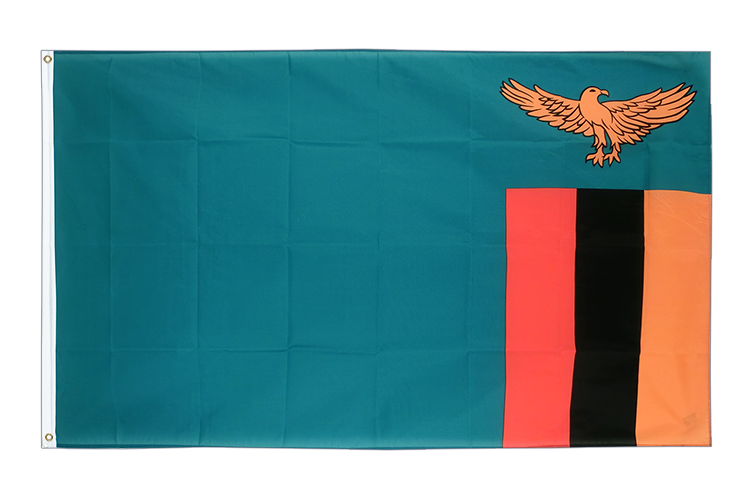 Cheap Flag Zambia - 2x3 ft